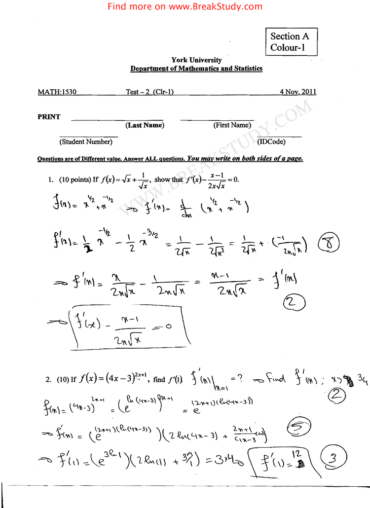econ 1530 midterm exam test 1 with answer Introductory ...