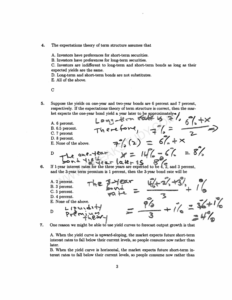 econ 3430 practice question for test 2 Page 2