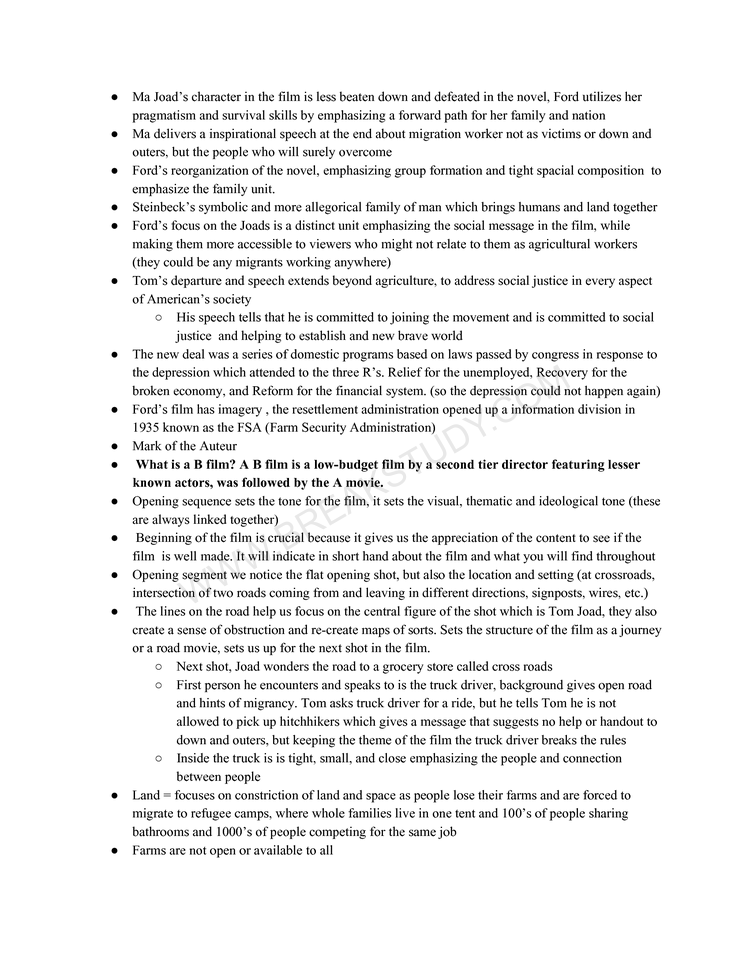Lecture #2 populist agrarian film Page 2