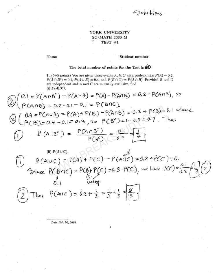 note Page 1
