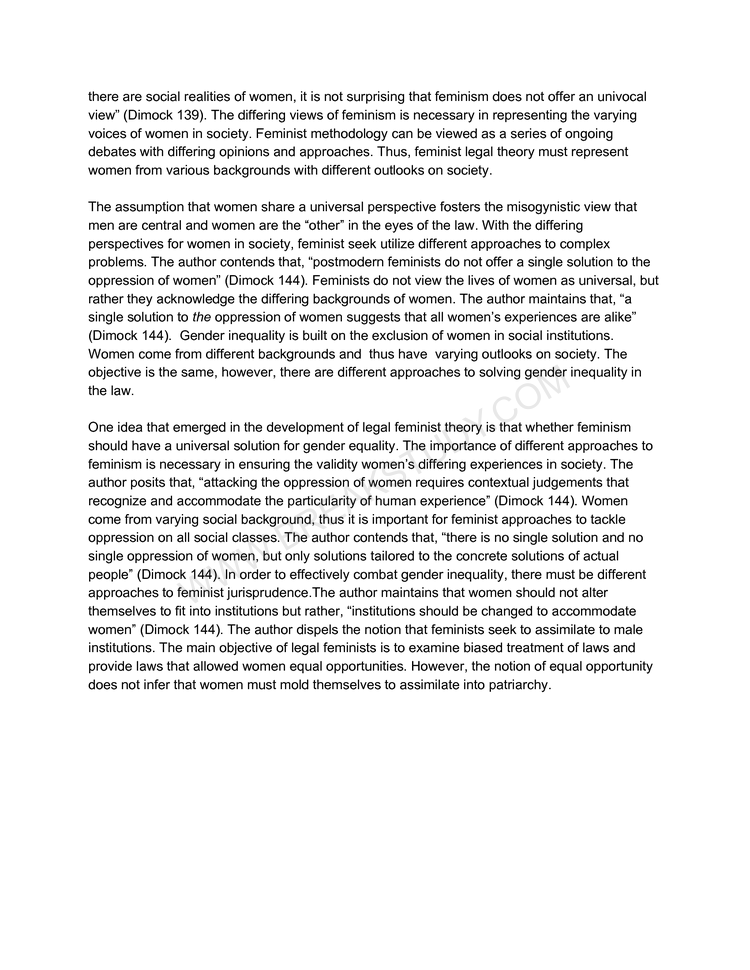 Philosophy of Law Essay 1 Page 2